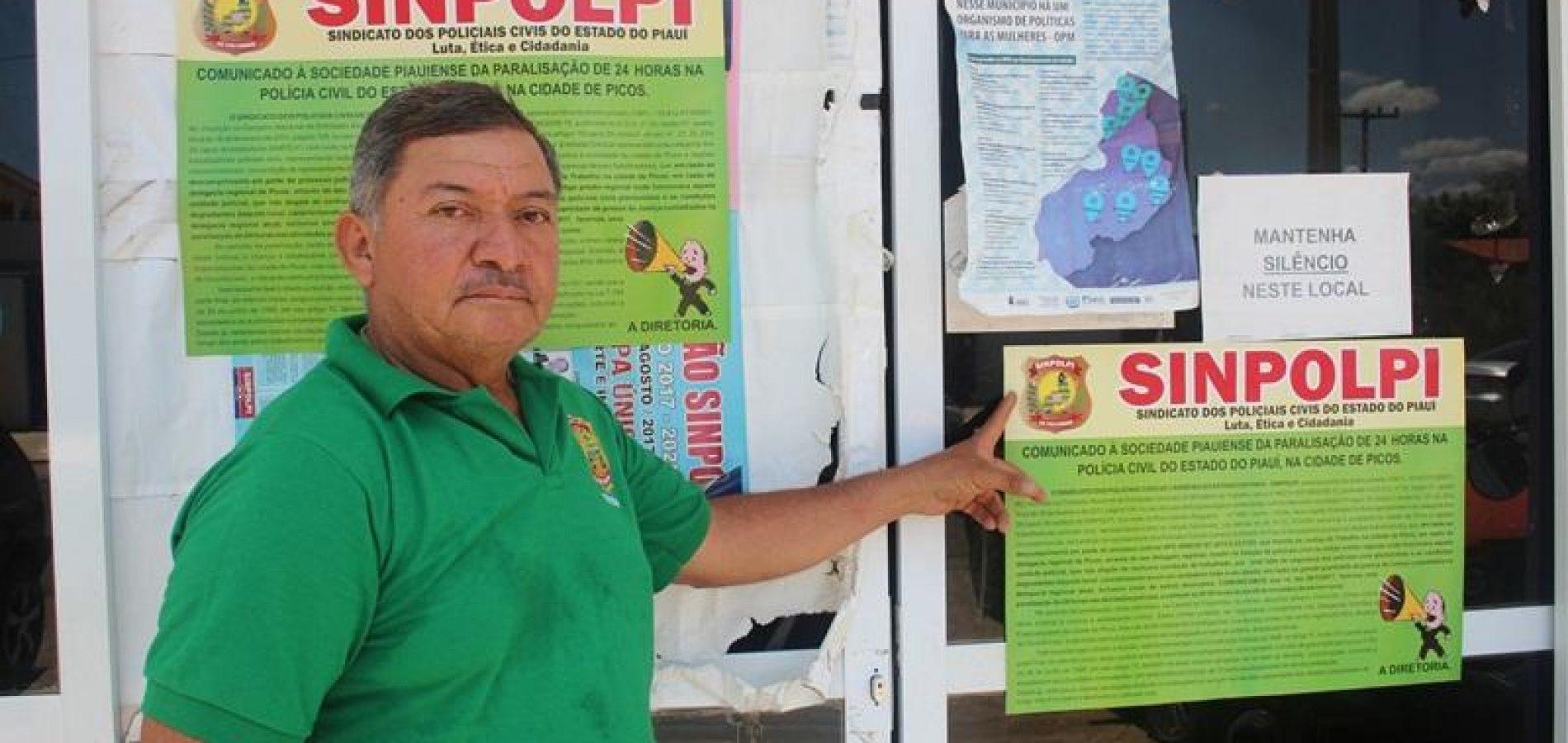 Policiais Civis paralisarão atividades em Picos