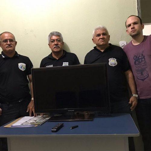 Polícia Civil recupera TV furtada após rastrear conta do Netflix  no Piauí