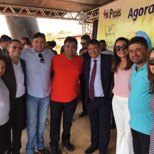 Em encontro com W. Dias, prefeito busca melhorias no abastecimento de água de Alegrete do PI