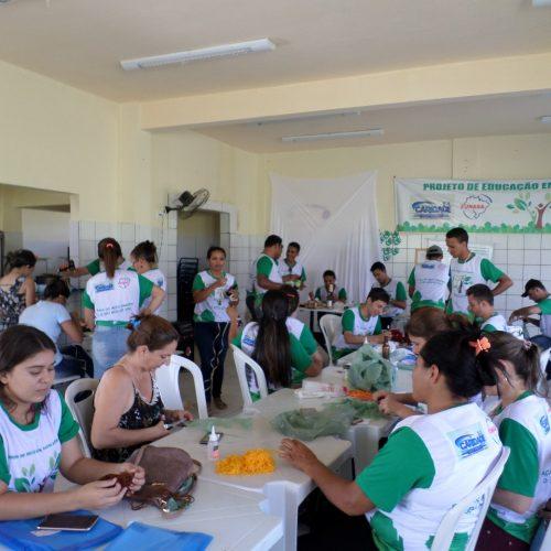 Prefeitura de Caridade do PI e Funasa desenvolvem projeto de Educação em Saúde Ambiental