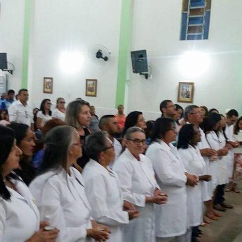 MARCOLÂNDIA | Onze novos Ministros da Eucaristia tomam posse na Paróquia de São Cristóvão