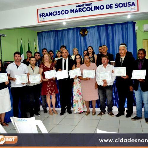 SÃO JULIÃO 57 ANOS | Câmara de vereadores entrega títulos de cidadania, comendas e medalhas de honra ao mérito