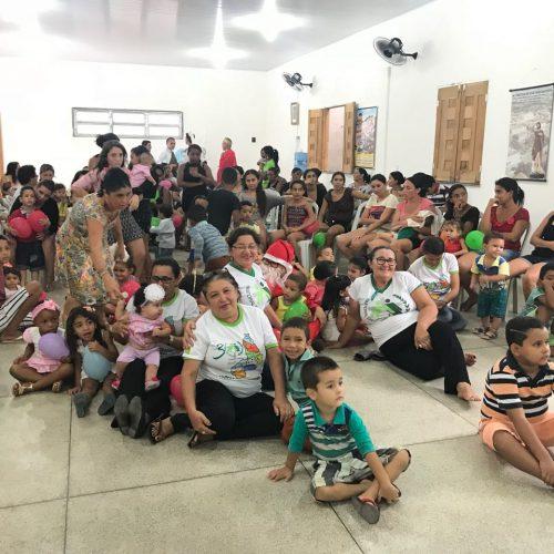 Pastoral da Criança realiza celebração da Vida e confraternização natalina em Alagoinha do Piauí