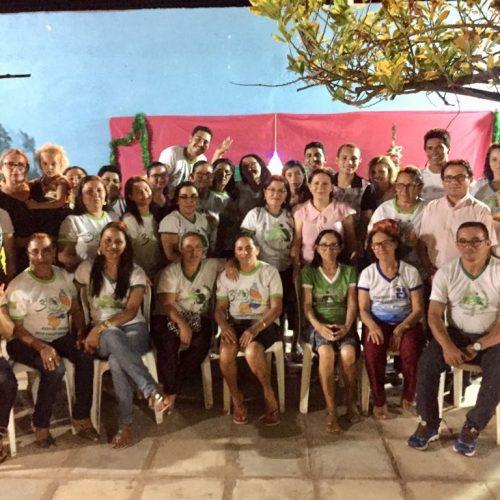 Coordenadora da Pastoral da Criança de Alagoinha do Piauí realiza confraternização para líderes e equipe de apoio