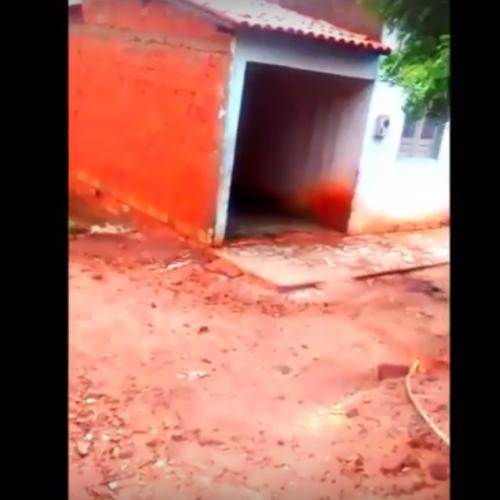 VÍDEO: Chuva forte preocupa moradores de áreas de risco em Picos