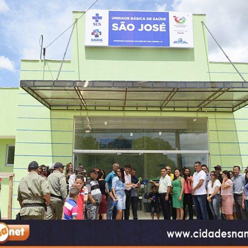 VERA MENDES 22 ANOS    Fotos da inauguração da Unidade Básica de Saúde São José