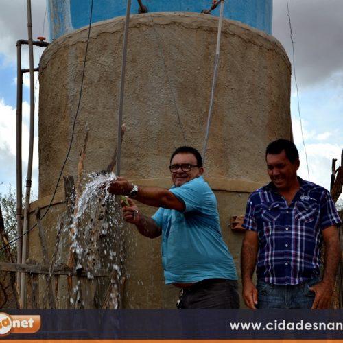 Em um ano, Francisco Macedo investiu R$ 100 mil no abastecimento de água  para a população