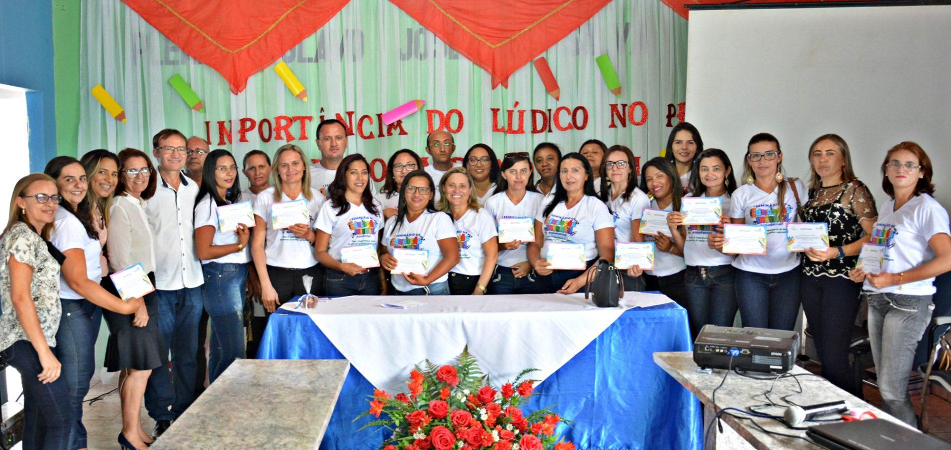 Massapê do Piauí realiza o I Seminário da Educação Infantil e apresenta resultado de projeto voluntário