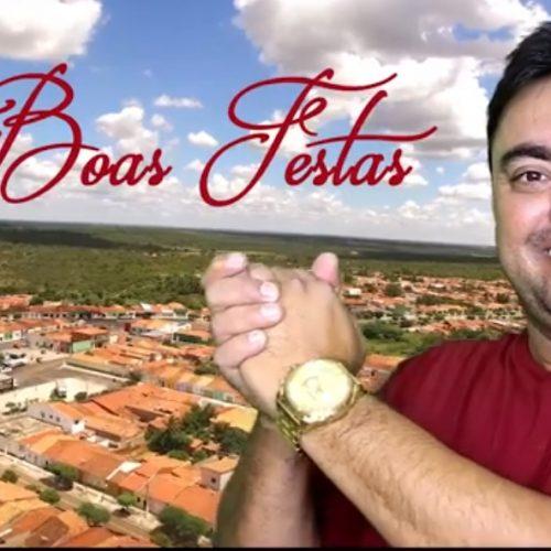ALEGRETE | Em vídeo, prefeito Márcio Alencar deixa mensagem de ano novo. Veja!