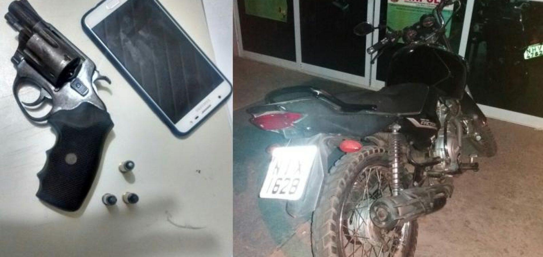 PICOS | Vítimas imobilizam assaltante armado até a chegada da polícia