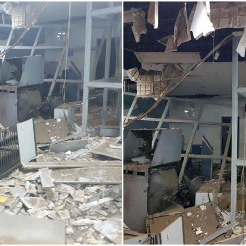 Bando explode Banco do Brasil, arromba Correios e Lotérica em Santa Cruz do Piauí