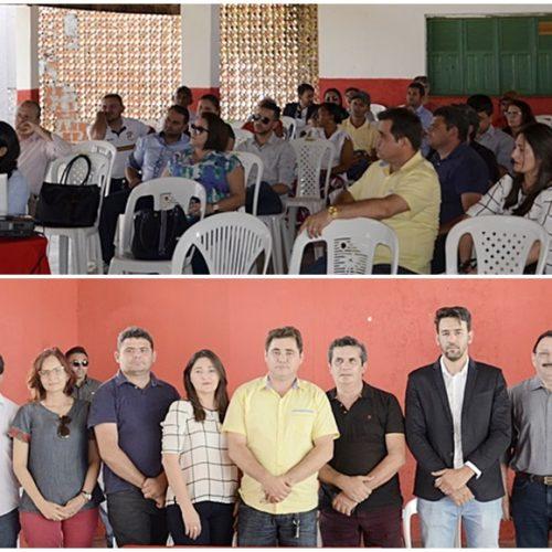 Em audiência pública, Prefeitura de Padre Marcos presta contas da Secretaria de Saúde e apresenta projeto Água Limpa
