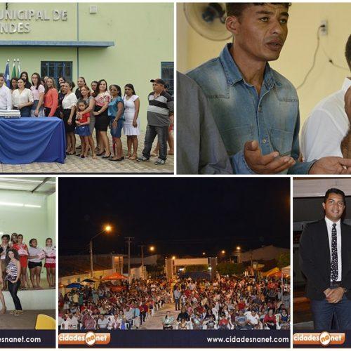 Atividades cívicas e religiosas abrem as comemorações do aniversário de 22 anos de Vera Mendes