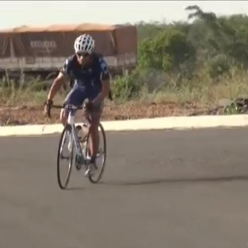Ciclista pedala mais de 2.500 km e perde 3 kg em viagem de São Paulo ao Piauí