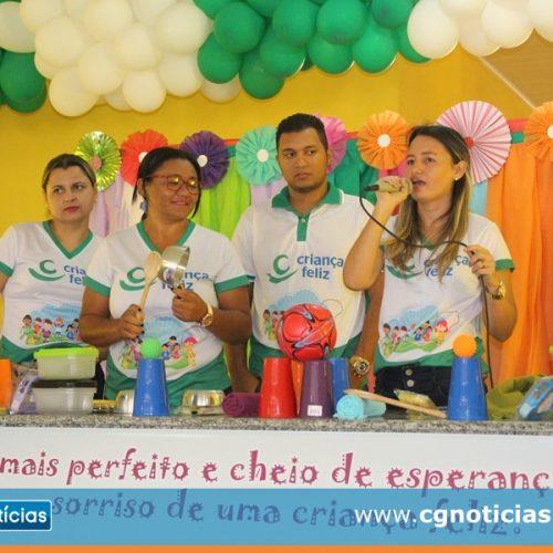 Programa Criança Feliz é lançando em Campo Grande do Piauí; 100 famílias serão beneficiadas