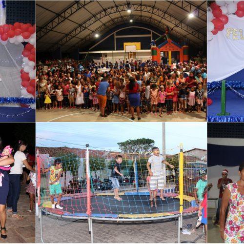 Prefeitura de Caridade promove festas de natal e distribui presentes para as crianças; Fotos!