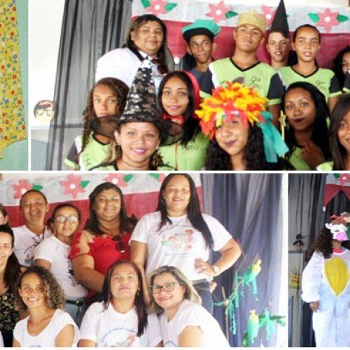JAICÓS   Escola Líria Alencar encerra ano letivo com culminância de Projeto de Leitura