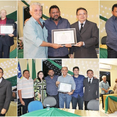 Solenidade de entrega de títulos de cidadania marca noite de comemorações aos 22 anos de Belém do Piauí