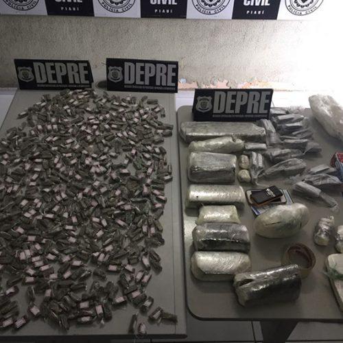 Secretário e servidores são presos em operação contra o tráfico de drogas no Piauí