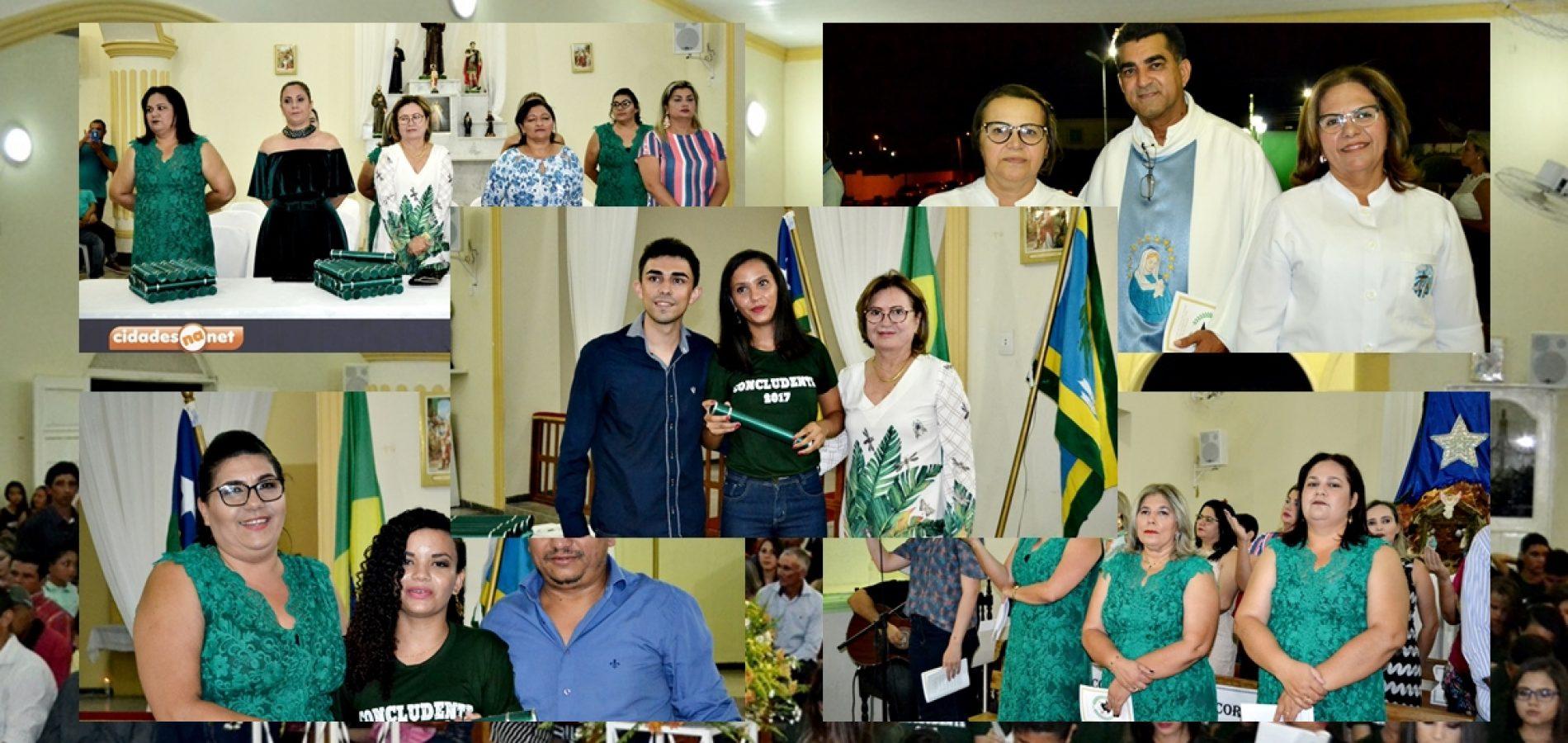 FOTOS | Missa e solenidade de entrega de certificados dos alunos concludentes do Ensino Fundamental II em Fronteiras