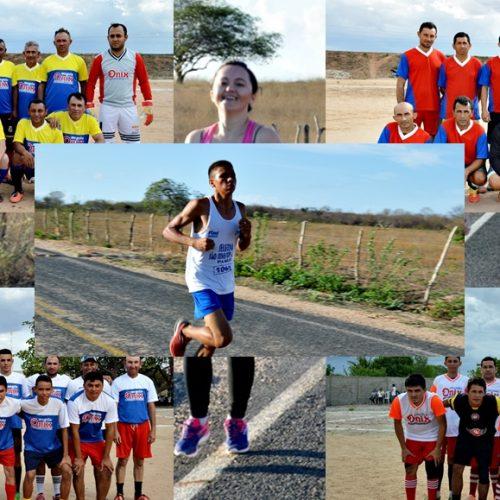 3º dia do aniversário de Vila Nova do PI tem maratonas, jogo dos veteranos e decisão do 3º lugar do Campeonato; fotos
