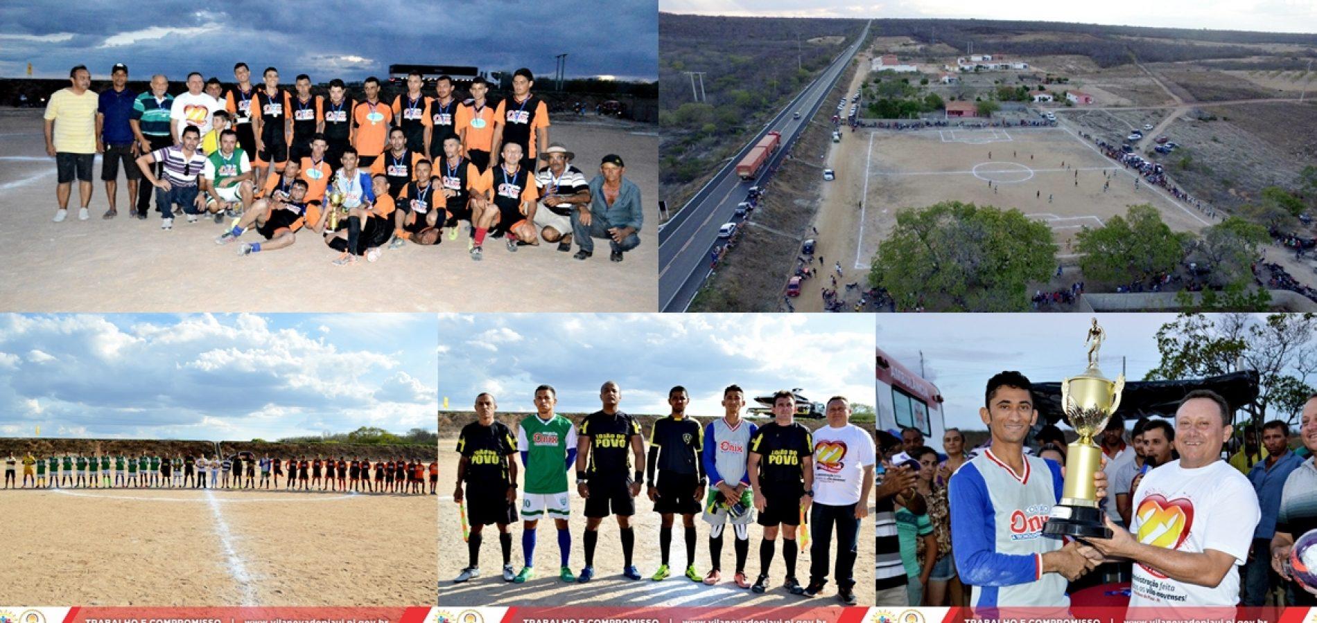 Lagoa do Provisio vence Cacimbas e é campeão do Campeonato de Futebol de Vila Nova do PI