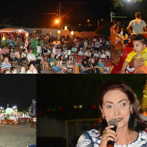 FRONTEIRAS | Prefeitura inaugura cenário natalino e encanta a cidade neste fim de ano