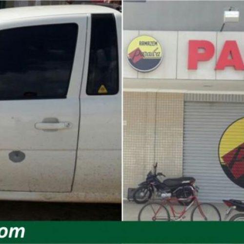 Bandidos fazem arrastão no Armazém Paraíba e atiram contra veículo de gerente no PI