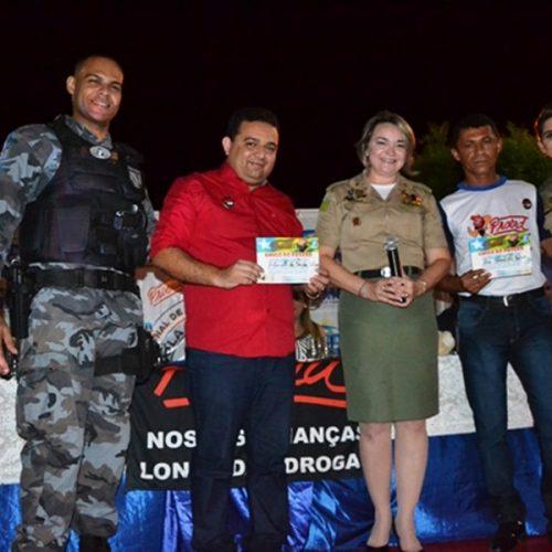 Solenidade marca formatura dos alunos do PROERD em Caridade do Piauí
