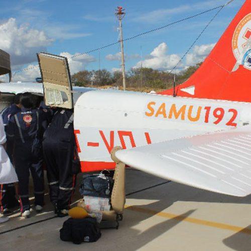 Samu Aéreo sofre limitação estrutural e faz até dois atendimentos por dia