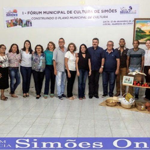 SIMÕES | Prefeitura Municipal realiza I Fórum de Cultura