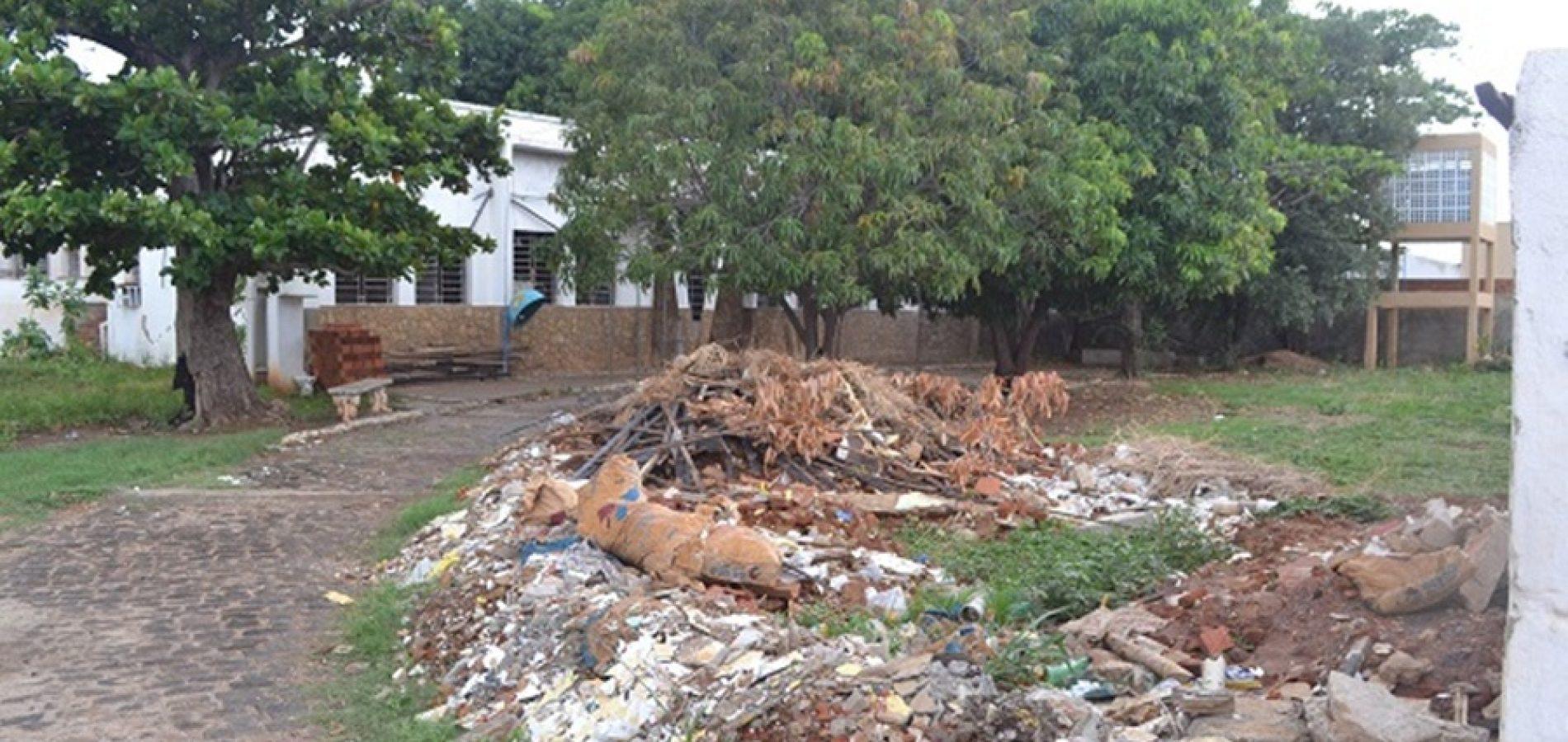Sede da 9ª Gerência de Educação de Picos está abandonada e aguarda reforma desde 2016