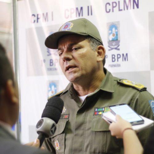 Carnaval: PM vai intensificar segurança e proibir entrada de policiais armados em festas no PI