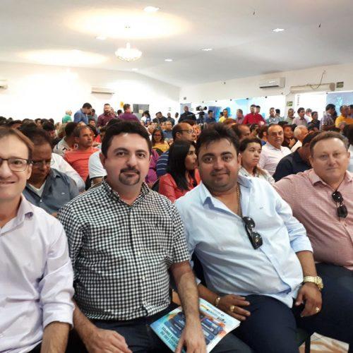 Prefeito de Massapê participa de evento do Progressistas e destaca trabalho em prol do Piauí