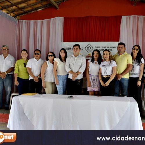 Campanha Janeiro Branco é lançado e abre as festividades do aniversário de 54 anos de emancipação política de Padre Marcos