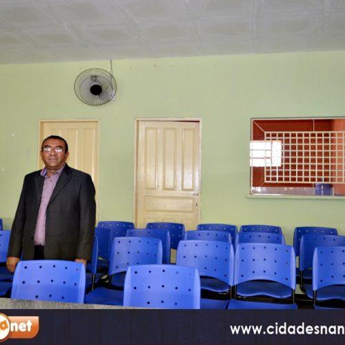 Vereador Adalberto Lopes implanta melhorias na Câmara Municipal de Patos do Piauí