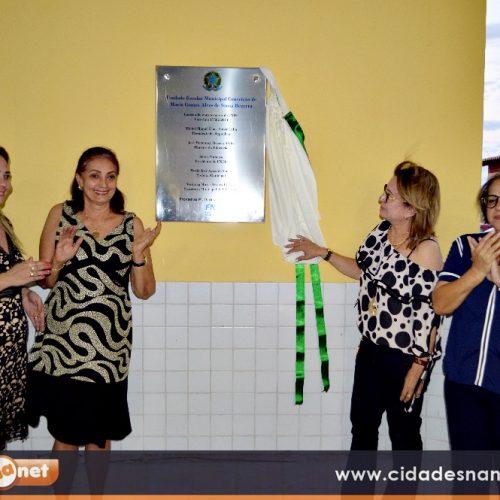 Prefeita Maria José conclui e inaugura Escola padrão FNDE para benefício a população de Fronteiras –PI; veja fotos