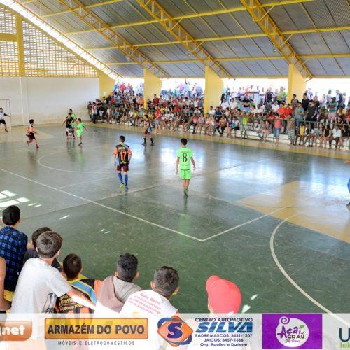 FOTOS | Jogos de vôlei e futsal no 54º aniversário de Padre Marcos