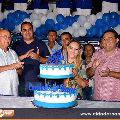 FOTOS | Inaugurações, futebol, premiação e corte do bolo no aniversário de Caridade do PI