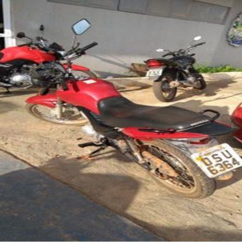 Polícia recupera motocicleta roubada no bairro Morada do Sol em Picos