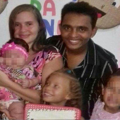 """""""Não esqueço ela um só segundo"""", desabafa pai de menina morta pela PM"""