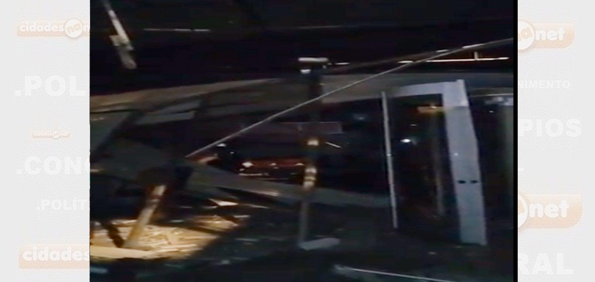 Assaltantes explodem agência do Bradesco no interior do Piauí