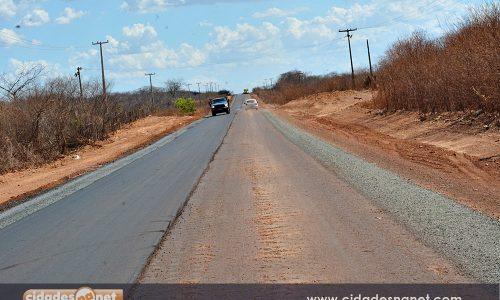 Obras de reconstrução do asfalto entre Itainópolis e Picos serão retomadas