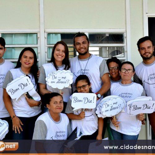 FRONTEIRAS | Assistência Social e CRAS promovem campanha 'Janeiro Branco' em prevenção a saúde mental