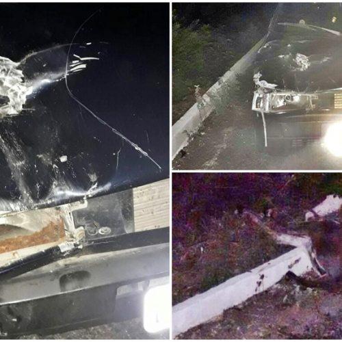 Suplente de vereadora de Belém do Piauí se envolve em acidente na BR 316