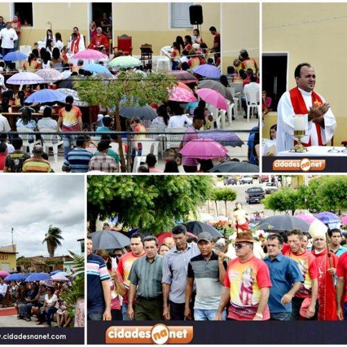 Missa e procissão encerram os festejos de São Sebastião em Patos do Piauí