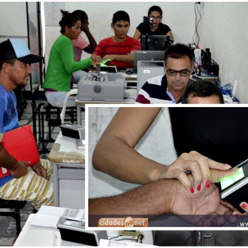 Com apenas 45% do eleitorado recadastrado, mutirão biométrico é iniciado em Massapê do Piauí