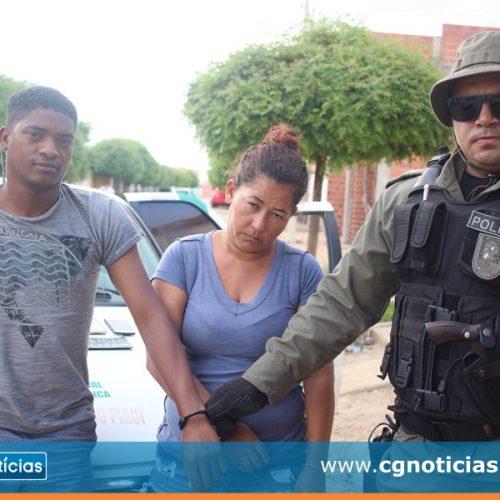 Casal é preso por furto de celulares durante shows do 24º aniversário de Campo Grande do PI