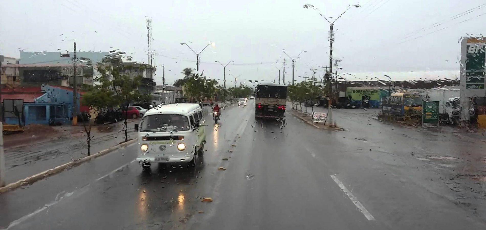 Volume de chuvas já atingiu 97 milímetros em Picos