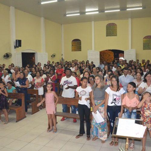 Comunidade católica de Vera Mendes celebra festa do padroeiro São Sebastião